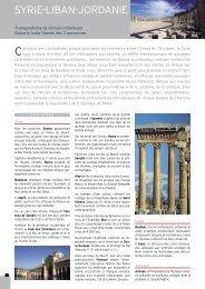 SYriE-LiBAN-JorDANiE - Histoire & Voyages