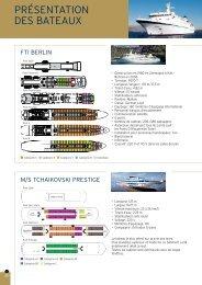 presentation des bateaux - Histoire & Voyages