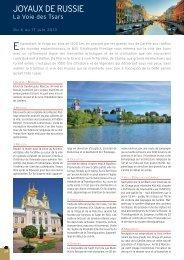 Croisière Joyaux de Russie : Moscou - Histoire & Voyages