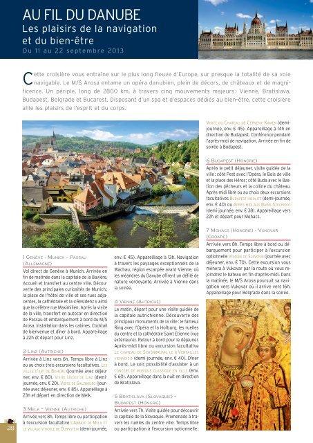 Croisière au fil du Danube - Histoire & Voyages