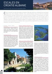 LiBYE ESCALES EN CroATiE-ALBANiE - Histoire & Voyages