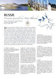 russIe - Histoire & Voyages