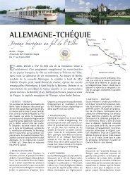 allemagne-tchéquIe - Histoire & Voyages