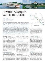 Joyaux baroques au fIl de l'elbe - Histoire & Voyages