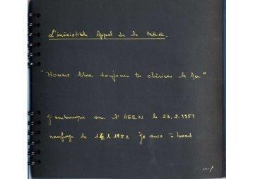 """l'Agen, extrait de l'Album d'Henri Bouchon """"Ma vie au long cours"""""""