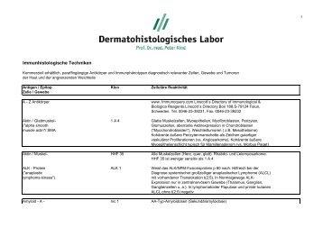 Download Übersicht Immunhistologische Techniken 120 kb