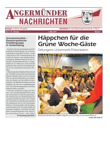 Nr. 02/2013 - Angermünde