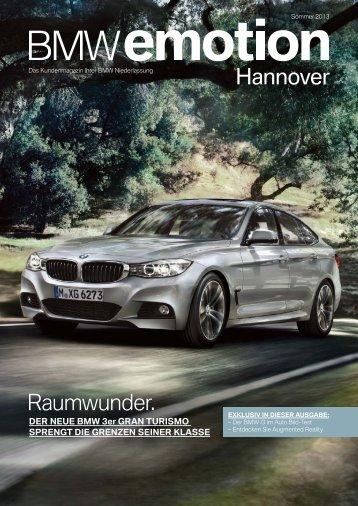 BMW emotion 2/2013 Ausgabe hier als PDF herunterladen.