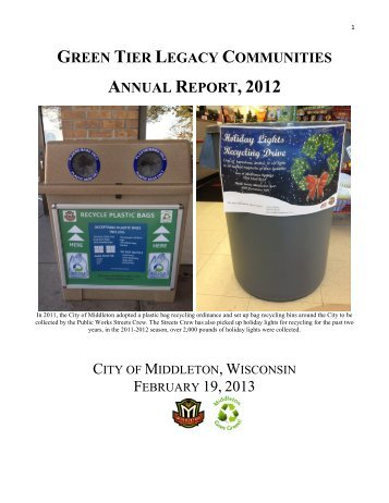 City of Middleton [PDF] - Wisconsin Department of Natural Resources