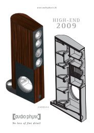 High-End 2009 - Audio Physic