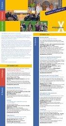 """Flyer """"Veranstaltungen"""" - DS-InfoCenter"""