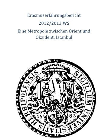 Istanbul - Universität Würzburg