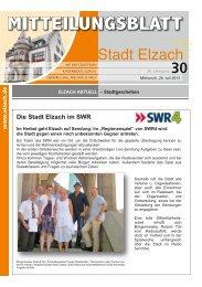 KW30 - Stadt Elzach