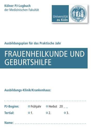 frauenheilkunde und geburtshilfe - Klinik und Poliklinik für ...