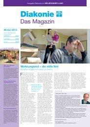 Diakonie-Magazin - Diakonische Jugendhilfe Region Heilbronn eV