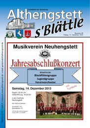 KW 50/2013 - Althengstett