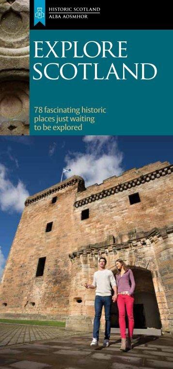 Sites Guide 2013 - Historic Scotland