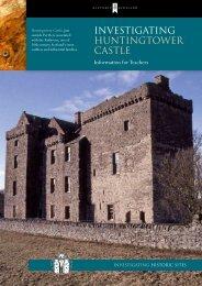 Investigating - Huntingtower Castle - Historic Scotland