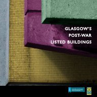 Glasgow's Post War Listed Buildings [pdf, 5.09mb] - Historic Scotland