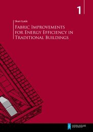 Fabric Improvements for Energy Efficiency in ... - Historic Scotland