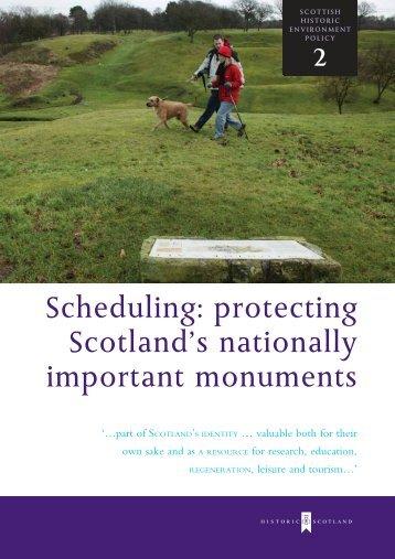 SHEP 2 - Historic Scotland