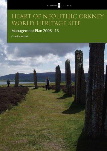 Management Plan - Historic Scotland