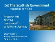 9. Research into Existing Non-Domestic ... - Historic Scotland