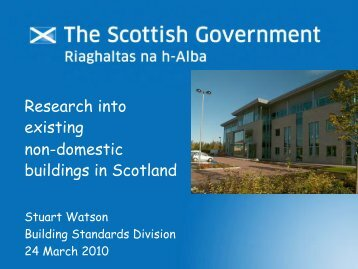 9. Research into Existing Non-Domestic ... - Historic Scotland