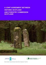 Read the Joint Agreement between Historic Scotland and Forestry ...