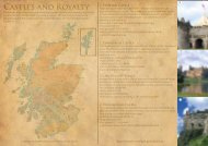 Movie Map- Castles and Royalty - Historic Scotland