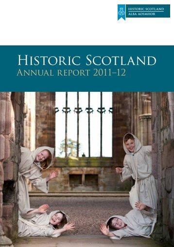 Annual Report and Accounts 2011-12 - Historic Scotland