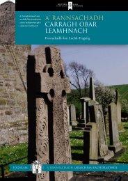 Carragh Obar Leamhnach [PDF,563KB] - Historic Scotland