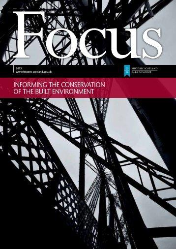 Focus Magazine 2013 - Historic Scotland