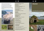 Dualchas na Cruinne – Hiort [pdf, 912kb] - Historic Scotland