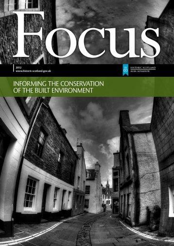 focus on climate change - Historic Scotland