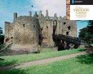 Dirleton Castle Wedding Brochure [pdf, 619kb] - Historic Scotland