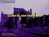 2. Supporting the transition to a low carbon ... - Historic Scotland