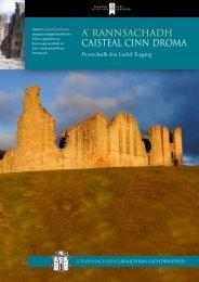 Caisteal Cinn Droma [PDF, 810KB] - Historic Scotland