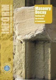 Inform Guide - Masonry Decay - Historic Scotland