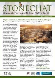 StoneChat Issue 1 - Historic Scotland