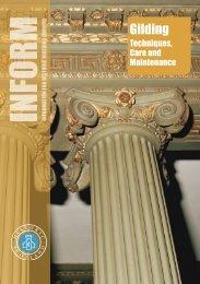 Inform Guide - Gilding - Historic Scotland