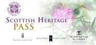 Scottish Heritage Pass booklet [pdf, 4.33mb] - Historic Scotland