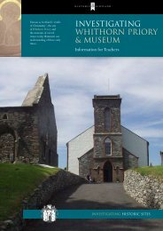 Investigating - Whithorn Priory & Museum - Historic Scotland
