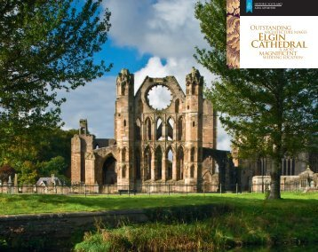 Elgin Cathedral Wedding Brochure [pdf, 544kb] - Historic Scotland