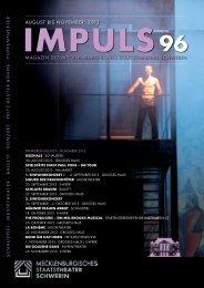 August 2013 (PDF 2,3 MB) - Mecklenburgisches Staatstheater ...
