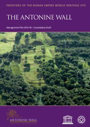 The Antonine Wall Management Plan 2013-18 - Glasgow City Council