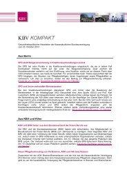 97 KB - Kassenärztliche Bundesvereinigung
