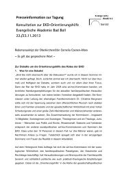 Cornelia Coenen-Marx - Evangelische Akademie Bad Boll