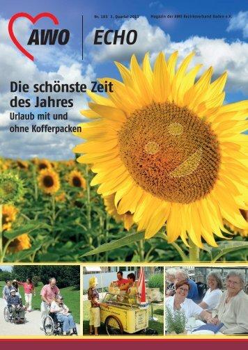 Die schönste Zeit des Jahres - AWO Baden