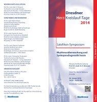 Dresdner Herz-Kreislauf-Tage 2014